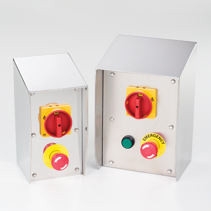 Rotary Isolator & Emergency Stop Enclosures