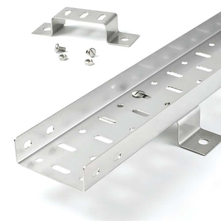 Medium Duty Straight Edge Cable Tray
