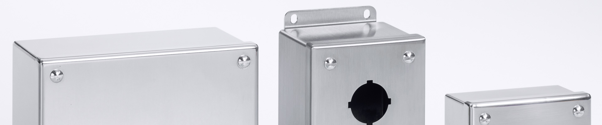 Stainless Steel Traditional Push-Button Enclosures
