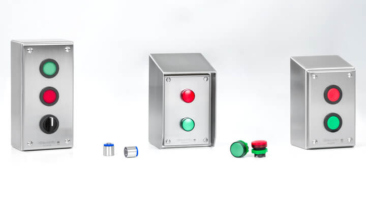 WashdownPro Stainless Steel Push-Button Enclosures