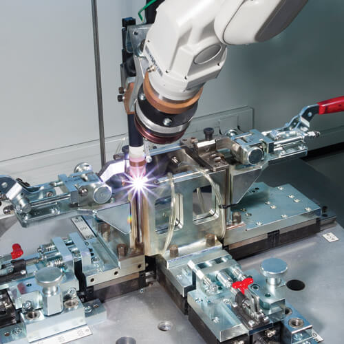 Robotic manufacturing processes for Electrix stainless steel products