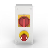 AB-ISO 32-ES-SR | Rotary Isolator & Emergency Stop Enclosure with Allen-Bradley switches Alternative Image 0