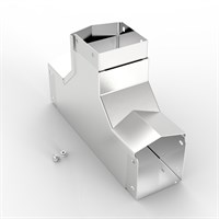 AL-S13 75-75 | 15° Apex Lid Trunking 90° Inside Lid Tee Alternative Image 1