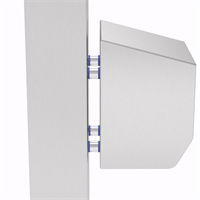 PILLAR-4-M10-19 | WASHDOWNPRO Removable Stand-Off Mounting Pillars 19 mm Alternative Image 1