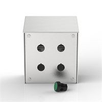 SR-PB4-S | 15° Sloping Roof Push-Button Enclosure Alternative Image 0