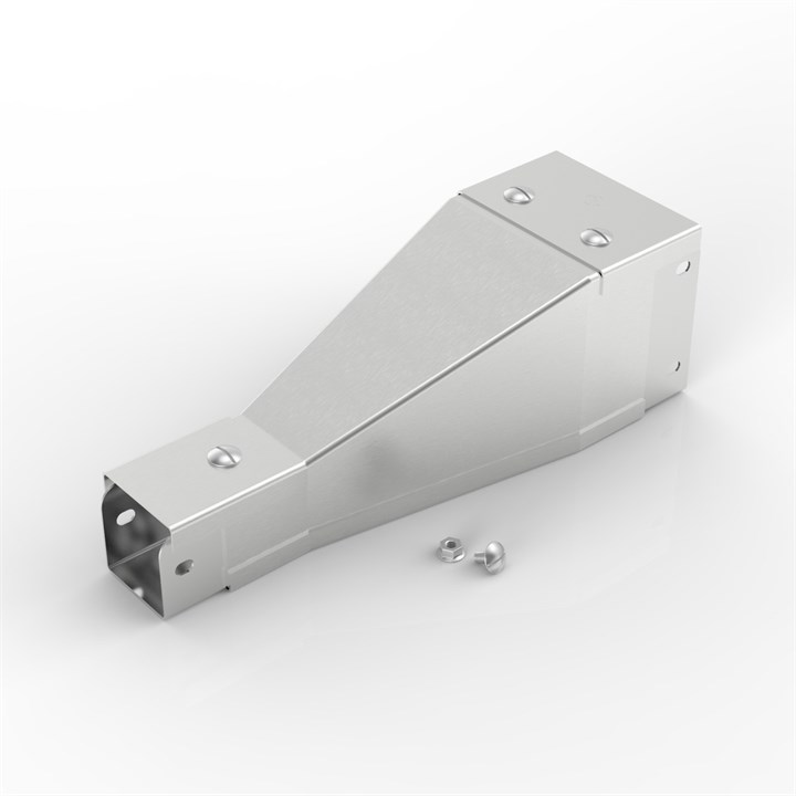 150-150ST150-100 | Flat Lid Trunking Tapered Reducer