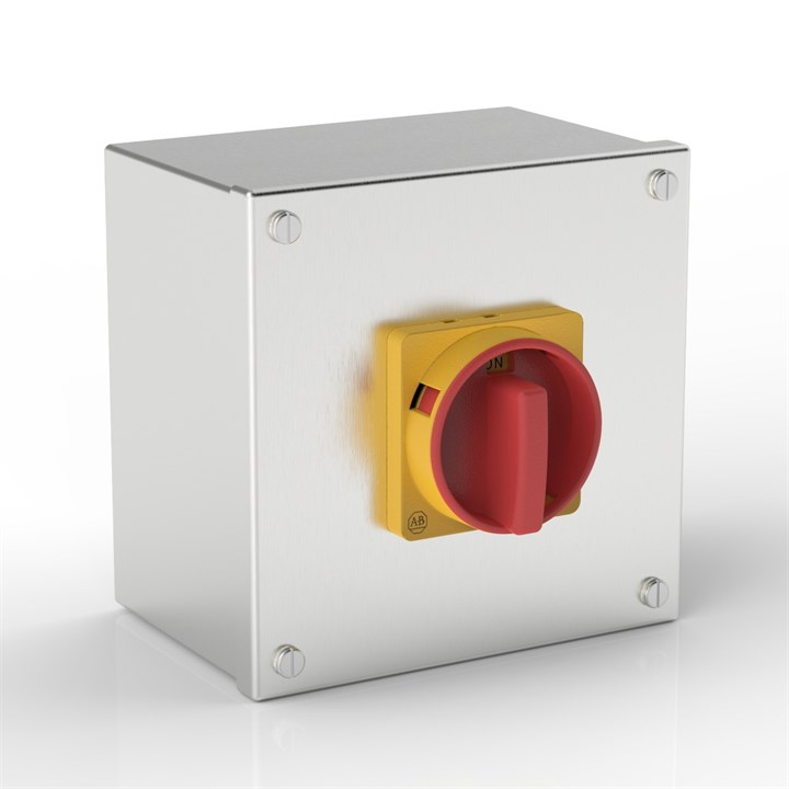AB-ISO 63-S | Rotary Isolator Enclosure with Allen-Bradley switch