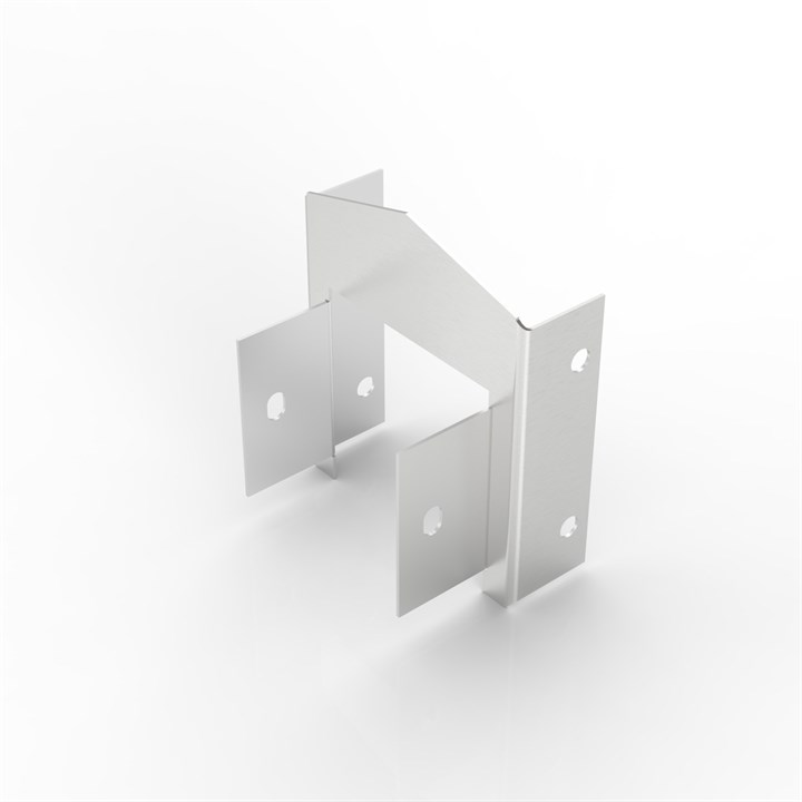 AL-S150-150/150-100 | 15° Apex Lid Trunking Reducer
