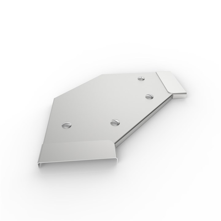 HRF FB90 150 LID | Heavy Duty Return Flange Tray 90° Flat Bend Lid
