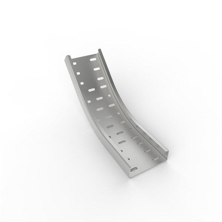 MRF IB45 450 | Medium Duty Return Flange Cable Tray 45° Inside Bend