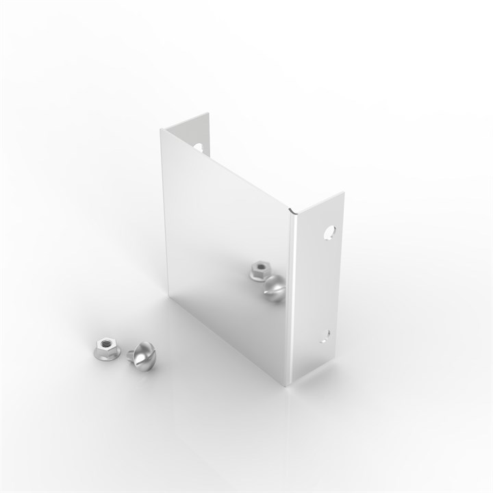 P18 100-50 | Flat Lid Trunking Stop End