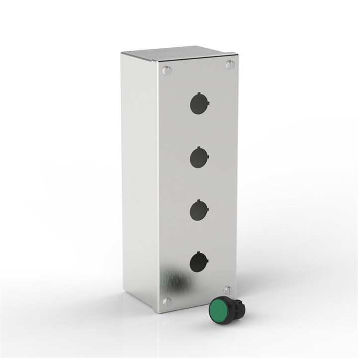 PB4/1-S316-22.5 | Push-Button Enclosure