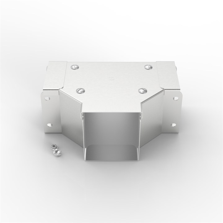 S11 150-100 | Flat Lid Trunking 90° Front Lid Gusset Tee