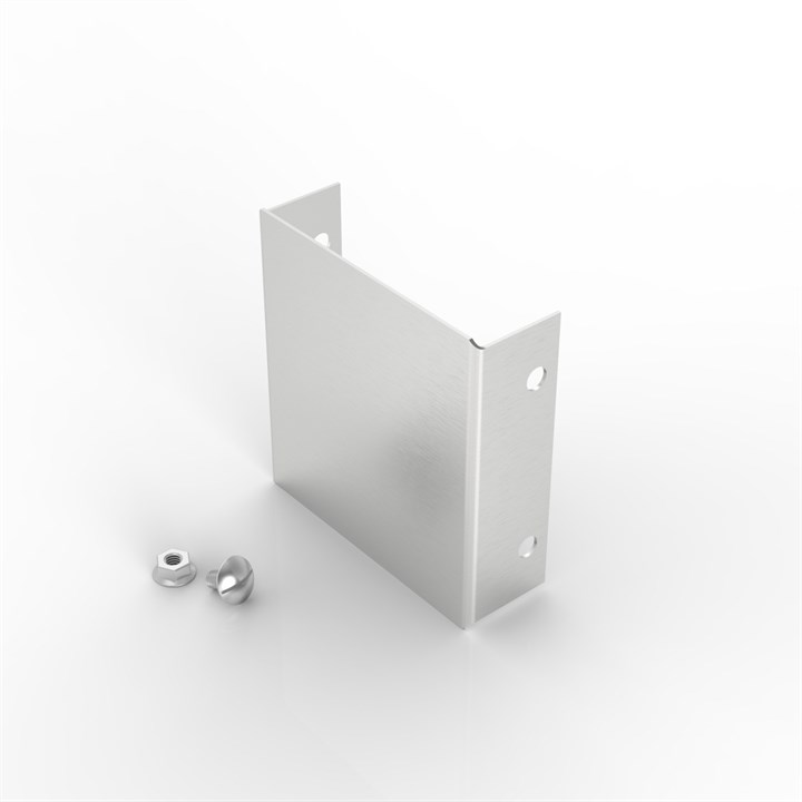 S18 150-100 | Flat Lid Trunking Stop End