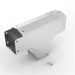 AL-S14 75-75 | 15° Apex Lid Trunking 90° Outside Lid Tee