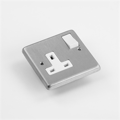 ELEC 1G-S SOCK | 13A Switched Socket, 1 Gang
