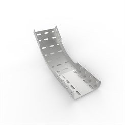 IB45-D 51 | Medium Duty Straight Edge Cable Tray 45° Inside Bend