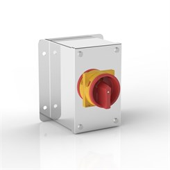 ISO 32-PRF | Rotary Isolator Enclosure with Flat Mounting Bracket & Eaton (Moeller Electric) switch