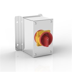 ISO 32-PRZ | Rotary Isolator Enclosure with Stand-Off Mounting Bracket & Eaton (Moeller Electric) switch
