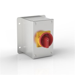 ISO 32-SRF | Rotary Isolator Enclosure with Flat Mounting Bracket & Eaton (Moeller Electric) switch