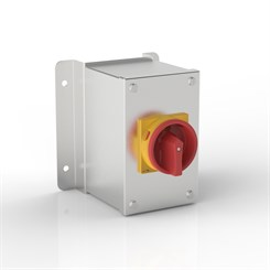 ISO 32-SRZ | Rotary Isolator Enclosure with Stand-Off Mounting Bracket & Eaton (Moeller Electric) switch