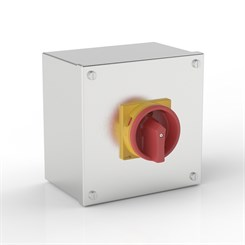 ISO 32-S | Rotary Isolator Enclosure with Eaton (Moeller Electric) switch