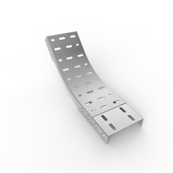 OB45-D 51 | Medium Duty Straight Edge Cable Tray 45° Outside Bend