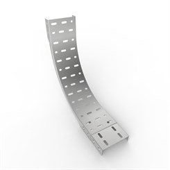 OB90-D 51 | Medium Duty Straight Edge Cable Tray 90° Outside Bend