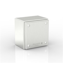 SL-XTCE20-S316 | Slimline Plain Cover Enclosure with Removable Stand-Off Mounting Pillars