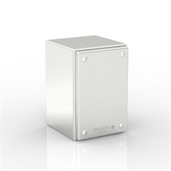 SL-XTCE30-S316 | Slimline Plain Cover Enclosure with Removable Stand-Off Mounting Pillars