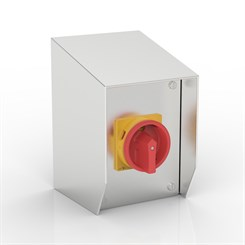 SR-32-S | 15° Sloping Roof Rotary Isolator Enclosure with Eaton (Moeller Electric) switch